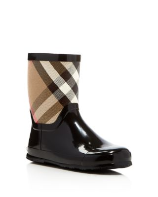 Check Rain Boots - Toddler, Little Kid
