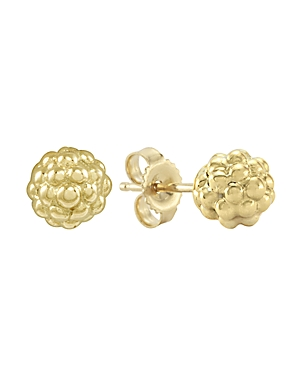 Lagos 18K Gold Stud Earrings-Jewelry & Accessories