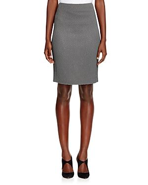 Armani Collezioni Chevron Skirt