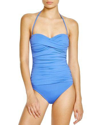 La Blanca - Island Goddess Bandeau One Piece Swimsuit