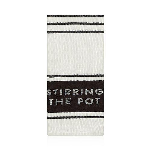 kate spade new york - Diner Stripe Kitchen Towel