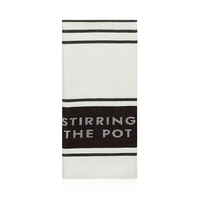 kate spade new york - Diner Stripe Kitchen Towel