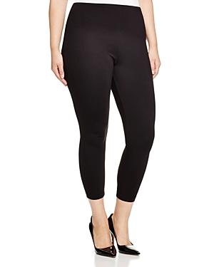 New Lysse Plus Ankle Zip Cropped Leggings, Black