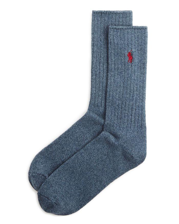 Polo Ralph Lauren - Ribbed Crew Socks