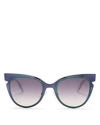 968685d50ce27 Fendi - Women s Cutout Cat Eye Sunglasses