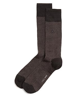Pique Textured Dress Socks