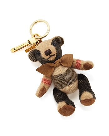Burberry - Thomas Check Bear Bag Charm