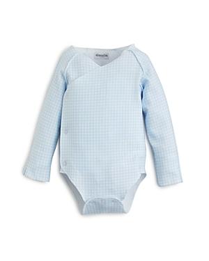 Absorba Boys' Long Sleeve Gingham Bodysuit - Baby