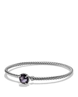 David Yurman - Châtelaine Bracelet with Lavender Amethyst over Hematine