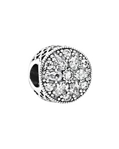 PANDORA Moments Collection Sterling Silver & Cubic Zirconia Radiant Bloom Charm - Bloomingdale's_0