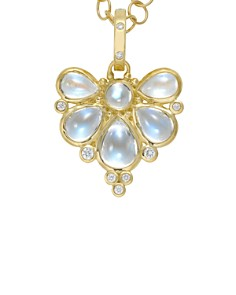 Temple St. Clair 18K Yellow Gold Wing Pendant with Royal Blue Moonstone and Diamonds - Bloomingdale's_0