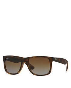 Ray-Ban - Unisex Justin Polarized Square Sunglasses, 55mm