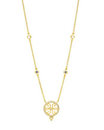 Freida Rothman - Filigree Pendant Necklace, 18""