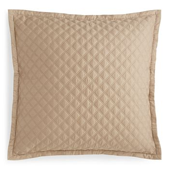 Hudson Park Collection - Double Diamond Quilted Euro Sham - 100% Exclusive