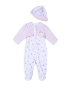 Little Me Girls' Baby Bunnies Footie & Hat Set - Baby - Bloomingdale's_0