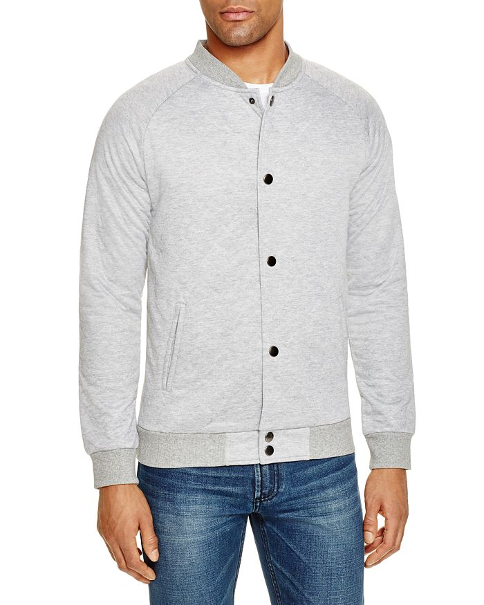Sovereign Code - Princeton Quilted Snap Sweatshirt