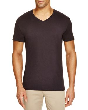 Vince Pima Cotton V-Neck Tee