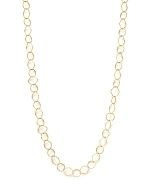 14K Yellow Gold Square-Link Necklace, 24 - 100% Exclusive