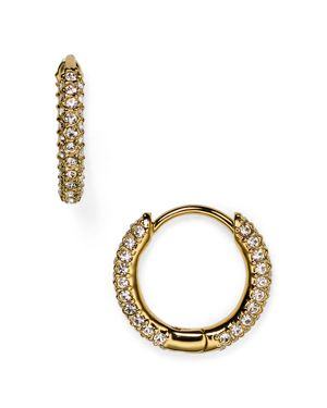 Nadri Huggie Hoop Earrings