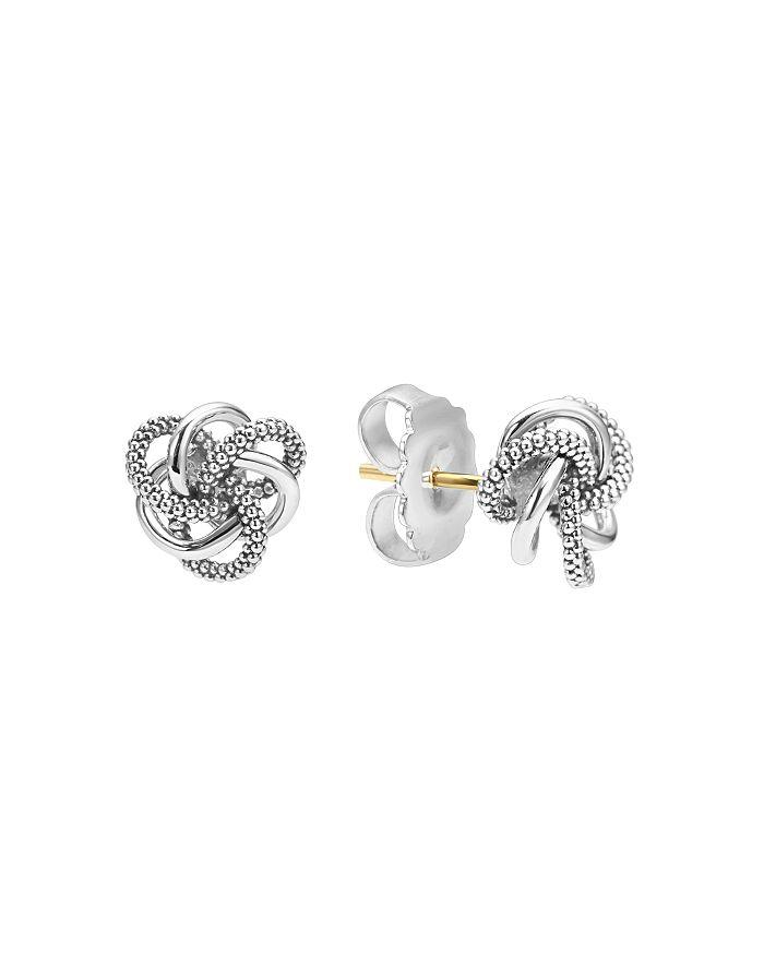 LAGOS - Sterling Silver Love Knot Stud Earrings