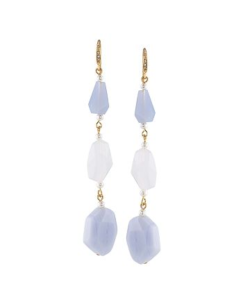 Carolee - Agate Linear Drop Earrings - 100% Exclusive