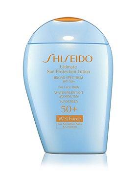 Shiseido - Ultimate Sun Protection Lotion for Sensitive Skin & Children Broad Spectrum SPF 50+ WetForce