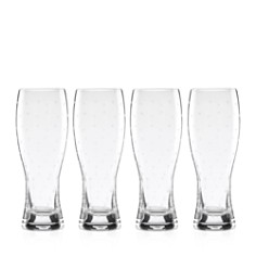 kate spade new york Larabee Dot Wheat Beer Glass, Set of 4 - Bloomingdale's_0