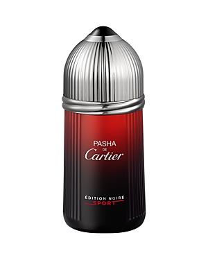 Cartier Pasha Edition Noire Sport Eau de Toilette 3.3 oz.