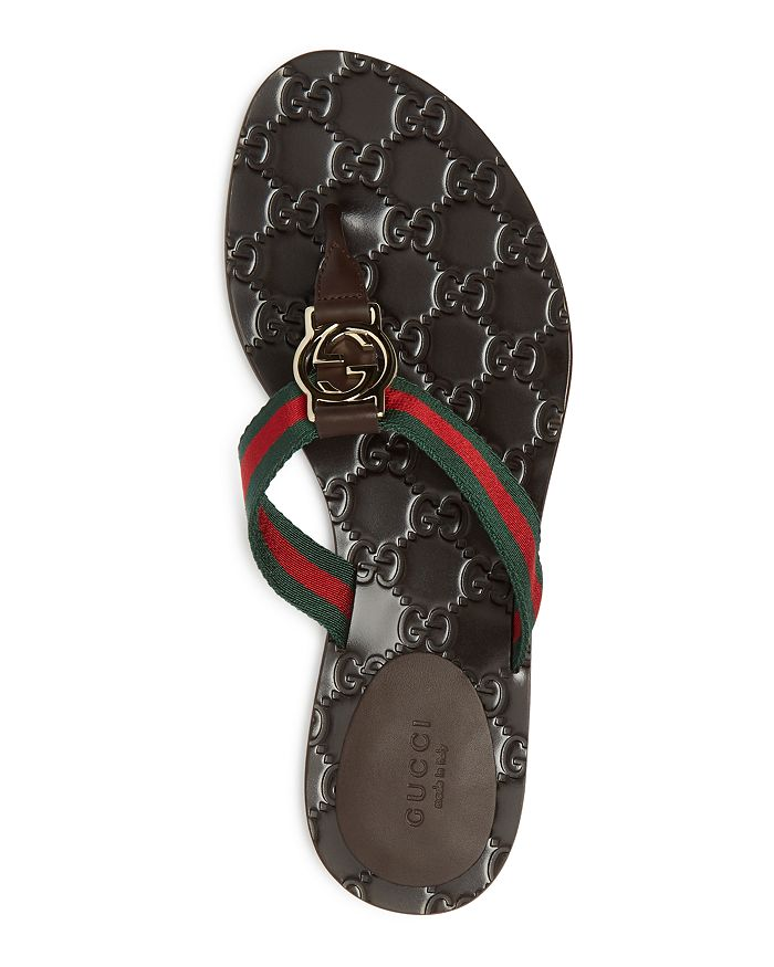 a7f689a3161e Gucci - Women s GG Thong Sandals