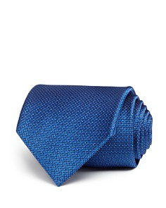 The Men's Store at Bloomingdale's - Tonal Micro Pattern Wide Tie - 100% Exclusive