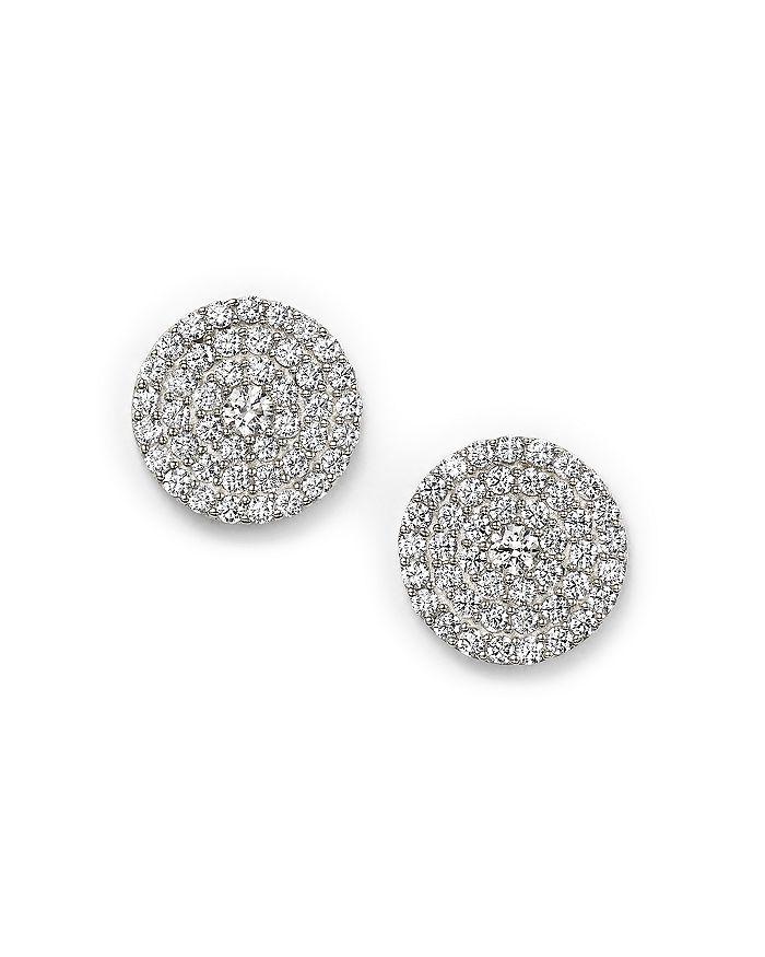 d91fe0061 Bloomingdale's - Diamond Disc Stud Earrings in 14K White Gold, 1.0 ct.  t.w.