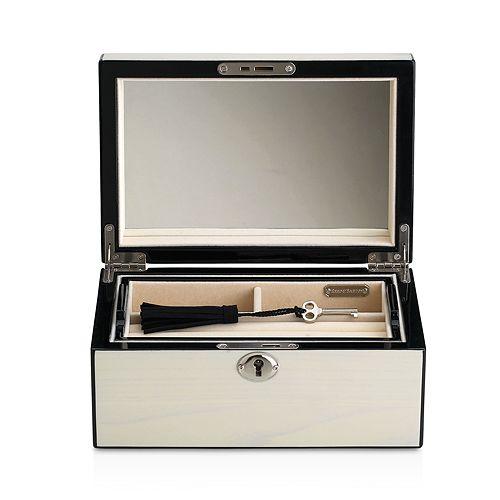 Reed & Barton - Natural Instinct Modern Lines Cream Jewelry Box