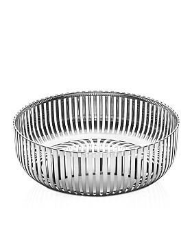 Alessi - Round Stainless Steel Basket