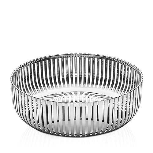 Alessi - Round Stainless Steel Basket
