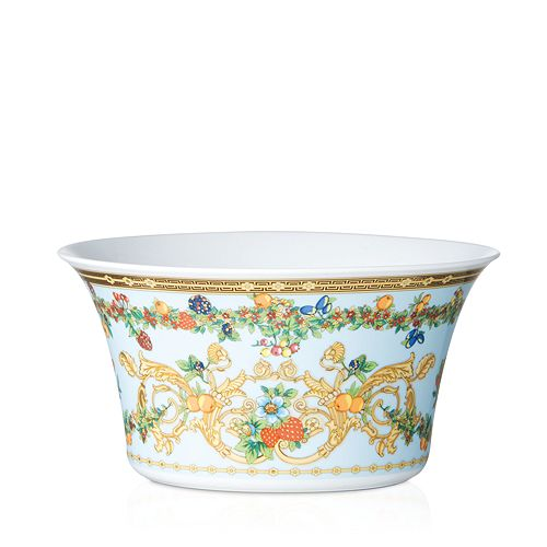 Rosenthal Meets Versace - Versace Butterfly Garden Medium Open Vegetable Bowl