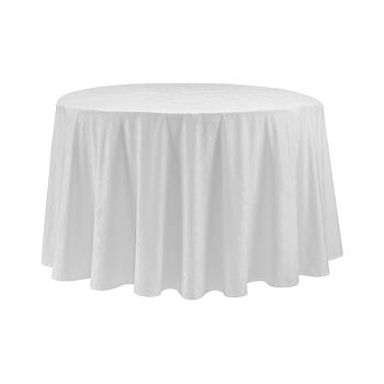 """Waterford - Camille Tablecloth, 90"""" Round"""