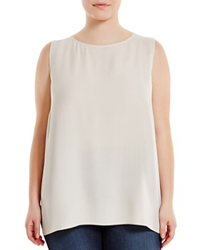 601a9e81aeb8df Eileen Fisher Plus - System Silk Tank ...