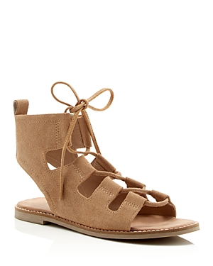 Matisse Shells Lace Up Gladiator Flat Sandals