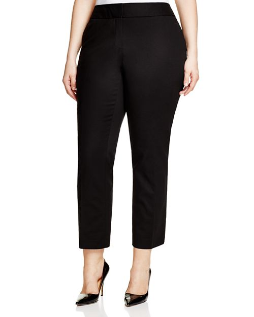 VINCE CAMUTO Plus - Slim-Leg Ankle Pants