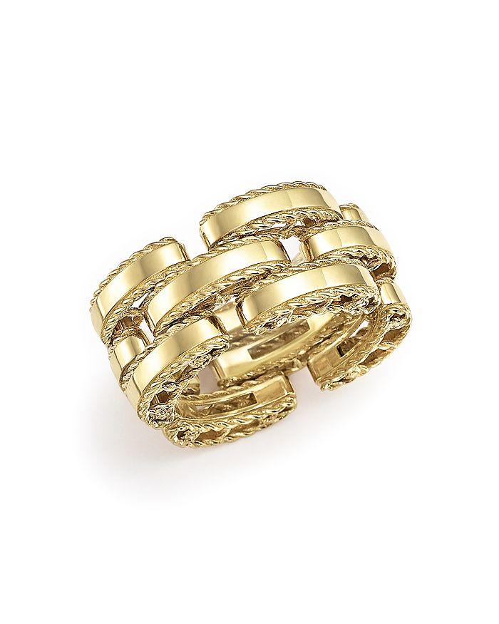 Roberto Coin - 18K Yellow Gold Retro Ring