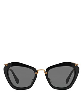 Miu Miu - Women's Oversized Cat Eye Sunglasses, 55mm
