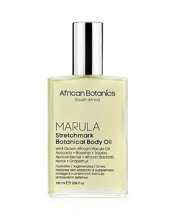 African Botanics - Marula Stretchmark Botanical Body Oil 3.6 oz.