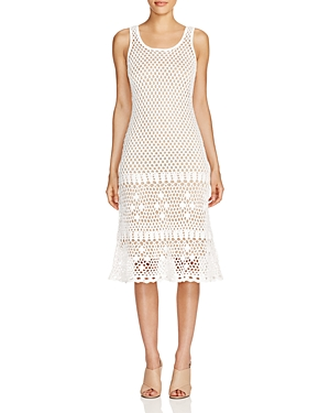 Michael Michael Kors Crochet Tank Dress