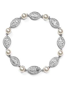 Nadri - Simulated Pearl Bracelet