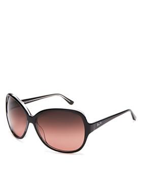Maui Jim - Women's Maile Round Sunglasses, 60mm