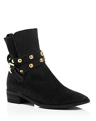 Womens Boots Designs 57377269 Chloe Janis Studded Leather Lace Up