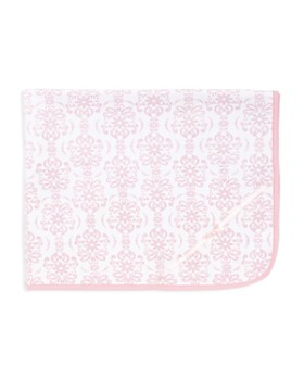 Little Me - Infant Girls' Damask Scroll Blanket