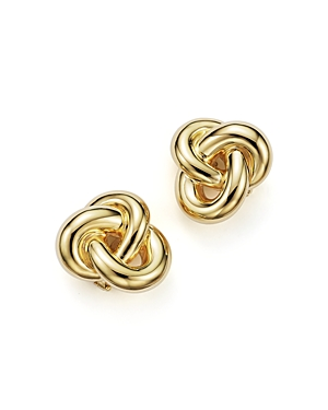 Click here for Roberto Coin 18K Yellow Gold Knot Earring prices