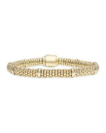 LAGOS - Caviar Gold Collection 18K Gold Caviar Beaded Station Bracelet
