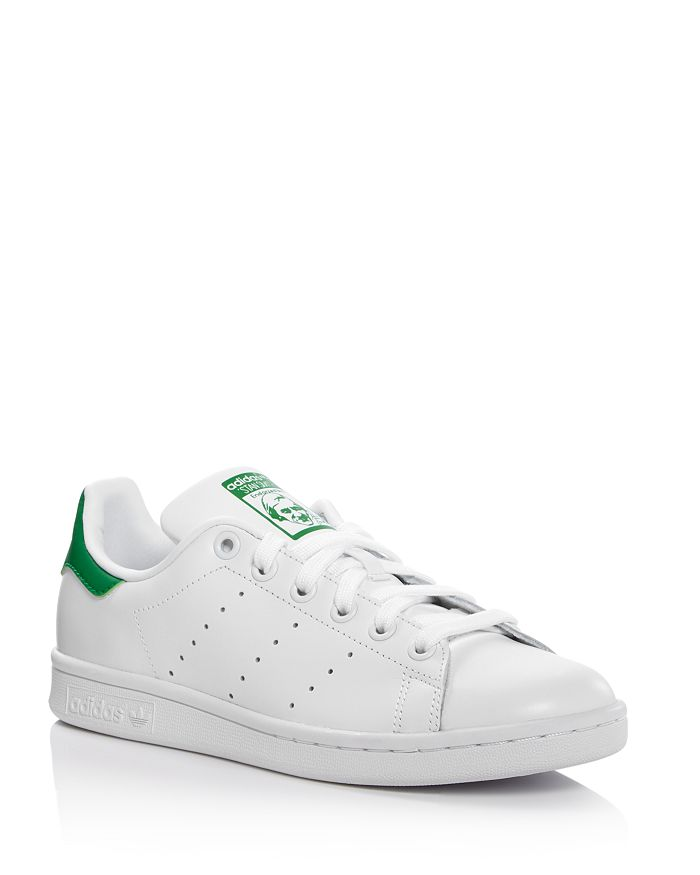 Berenjena Pasado formar  Adidas Women's Stan Smith Lace Up Sneakers | Bloomingdale's